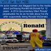 WTF Fun Fact – Fake Ronald