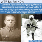 WTF Fun Fact - Finnish Soldier Overdose