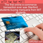 WTF Fun Fact - First E-Commerce