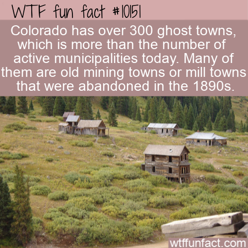 WTF Fun Fact - Ghost Towns
