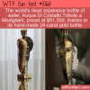 WTF Fun Fact – Most Expensive Bottle Of Water