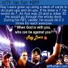 WTF Fun Fact – Ray Lewis Workout