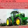 WTF Fun Fact – Hacked Tractors
