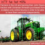 WTF Fun Fact - Hacked Tractors
