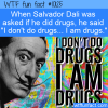 WTF Fun Fact – Salvador Dali Drugs