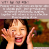 WTF Fun Fact – Laugh Until It Doesn't Hurt