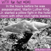 WTF Fun Fact – MLK Pillow Fight
