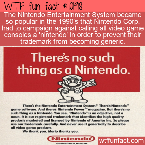 WTF Fun Fact - Not A Nintendo