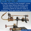 WTF Fun Fact – Origin Of In The Limelight