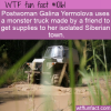 WTF Fun Fact – Postal Monster Truck