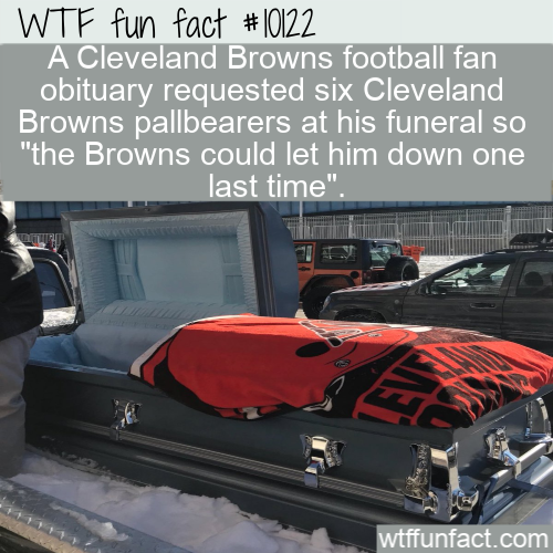 WTF Fun Fact - The Browns Could Let Him