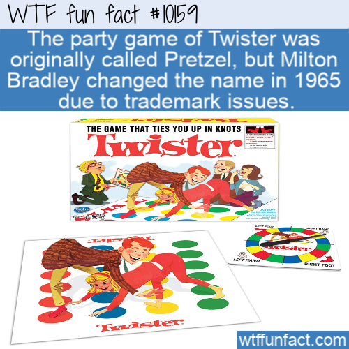 WTF Fun Fact - Twister or Pretzel