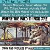 WTF Fun Fact – Original Wild Things