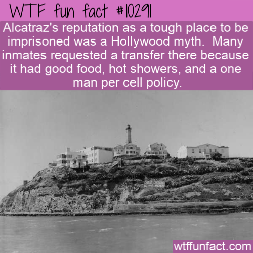 WTF Fun Fact - Alcatraz Not So Tough
