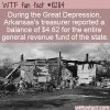 WTF Fun Fact – Arkansas Balance Sheet