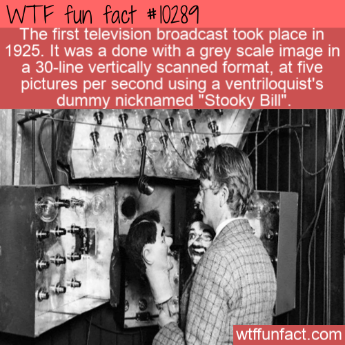 WTF Fun Fact - Dummy Broadcast