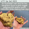 WTF Fun Fact – Gold Find On Dog Walk