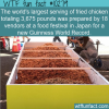 WTF Fun Fact – Largest Serving Of Fried Chicken