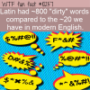 WTF Fun Fact – Latin Dirty Words