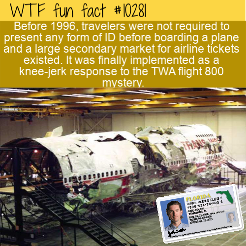 WTF Fun Fact - Photo ID For Planes