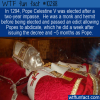 WTF Fun Fact – Pope Celestine V