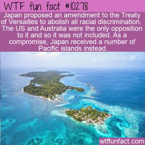 WTF Fun Fact - Treaty of Versailles