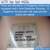 WTF Fun Fact – Urine Detection Device