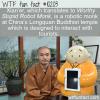 WTF Fun Fact – Worthy Stupid Robot Monk
