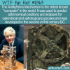 WTF Fun Fact – Antikythera Mechanism