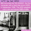 WTF Fun Fact – RAMAC IBM Computer