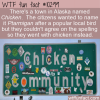 WTF Fun Fact – Town of Chicken Alaska