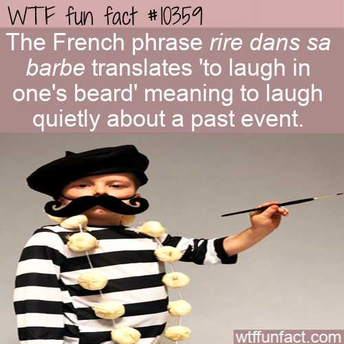 WTF Fun Fact - French Idiom