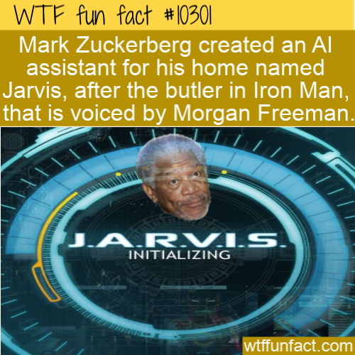 WTF Fun Fact - Mark Zuckerberg's AI Jarvis