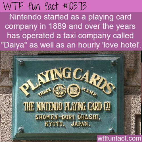 WTF Fun Fact - Nintendo Of Past