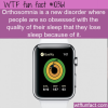WTF Fun Fact – Orthosomnia