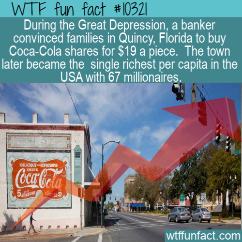 WTF Fun Fact - Quincy Florida Coca Cola