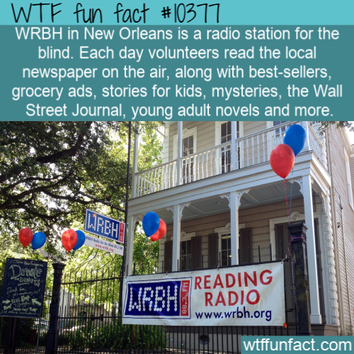 WTF Fun Fact - Radio For The Blind