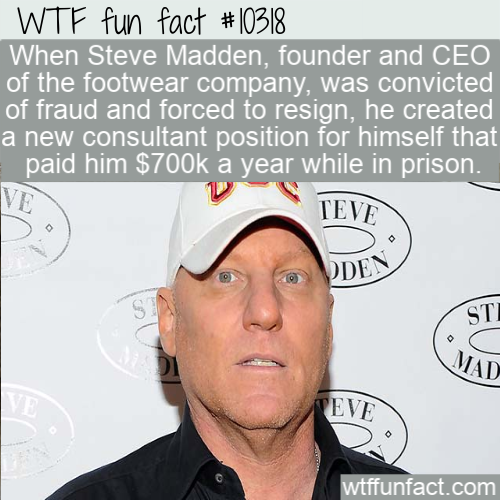 WTF Fun Fact - Steve Madden