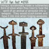 WTF Fun Fact – Viking's Accidentally Made Steel