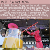 WTF Fun Fact – World Record Gin And Juice