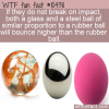 WTF Fun Fact – Bouncy Balls