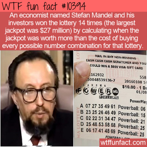 WTF Fun Fact - Economist Beats Lottery