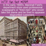 WTF Fun Fact - Fired Men