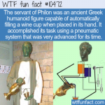 WTF Fun Fact - First Robot