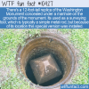 WTF Fun Fact – Mini Washington Monument