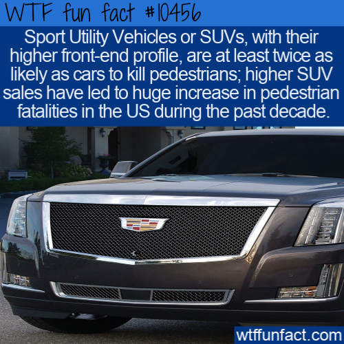 WTF Fun Fact - Dangerous SUV's