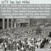 WTF Fun Fact – Straw Hat Riots