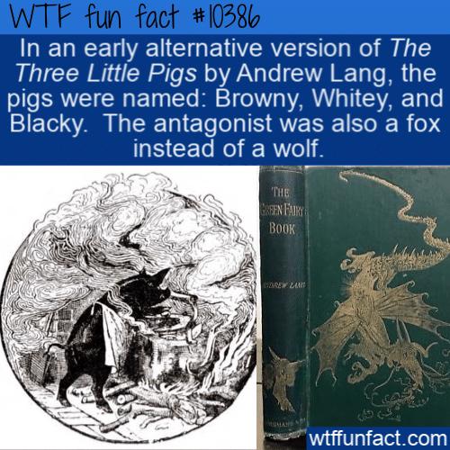 WTF Fun Fact - Three Little Pigs