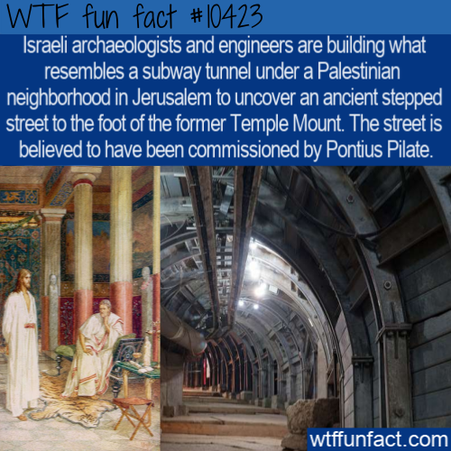 WTF Fun Fact - Pontius Pilate Street