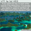 WTF Fun Fact – How Many Philippines Islands?